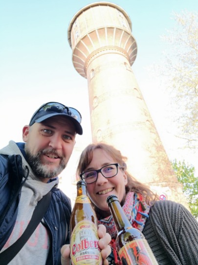 Bier am Wasserturm